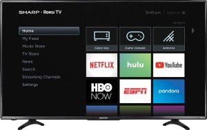 Starting at $229.99Sharp Smart 4K UHD TV with HDR Roku TV