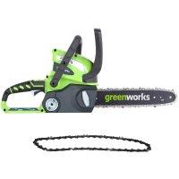 Greenworks 12英寸40伏无绳电锯 不包含电池和充电器