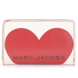 Marc Jacobs爆款回归!White Heart Logo爱心钱包