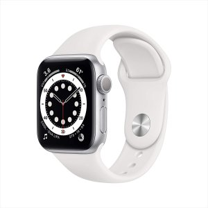 $384.99New AppleWatch Series 6 (GPS, 40mm) - Silver Aluminum
