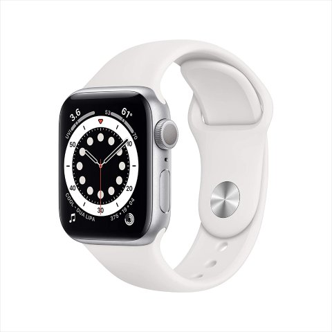 $379.00New Apple Watch Series 6 (GPS, 40mm) - Silver Aluminum