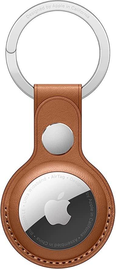 AirTag 官方皮制钥匙链