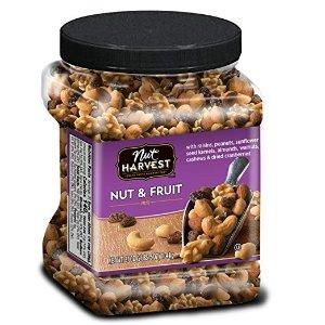 Nut Harvest坚果果干混合桶,37 Oz