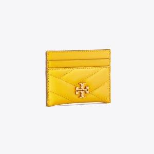 Tory BurchKira 黄色卡包