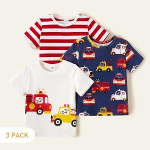 patpat儿童T恤3件套