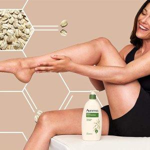 $7.49(原价$9.59)Aveeno 燕麦精华保湿乳液 532ml 给肌肤最柔软的呵护
