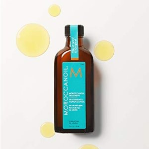 Moroccanoil单瓶比套装还贵!护发精油