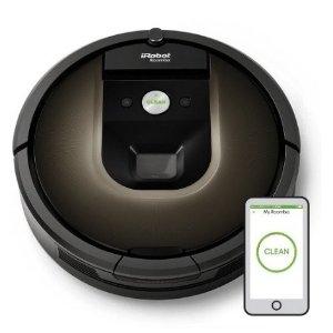 $707.99好价回归 iRobot Roomba 980 旗舰级吸尘清洁智能机器人