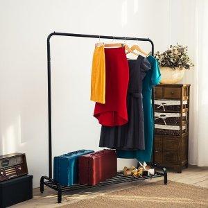 $43.74 (原价$54.99)闪购:LANGRIA 商用级稳固耐用 黑色挂衣架 销量冠军!