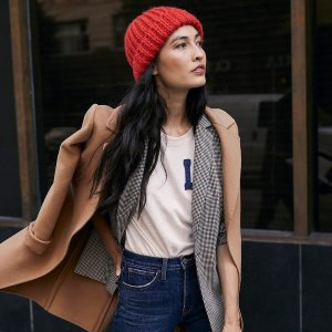 5折+额外4折网络周开抢:Lucky Brand Jeans 男女服饰、鞋履全场优惠