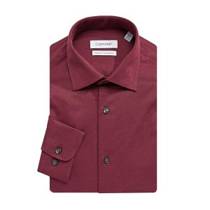 Calvin Klein- Regular Fit Cotton Dress Shirt