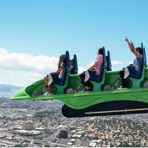 $25 +THE STRAT SKYPOD & THRILL RIDES