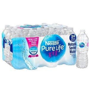 $4.99收24瓶x500ml白菜价:Nestle、Perrier 等矿泉水、饮品热卖  支持送货到家