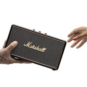 $99.99 包邮Marshall Stockwell 便携蓝牙音箱 带支架保护盖