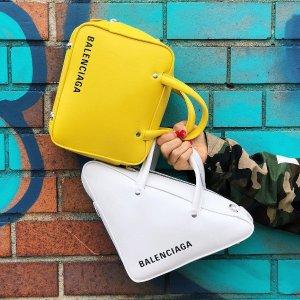 低至4折 收人气三角包Balenciaga 美包、美鞋专场 T恤、钱包$200+