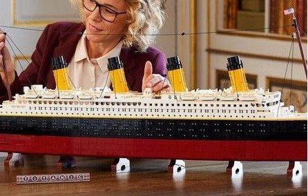 LEGO 泰坦尼克号10294 史上最大尺寸套装记录被刷!LEGO 泰坦尼克号10294 史上最大尺寸套装记录被刷!