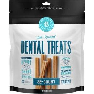 Bones & ChewsAll-Natural Dental Chew Sticks, 32 count - Chewy.com