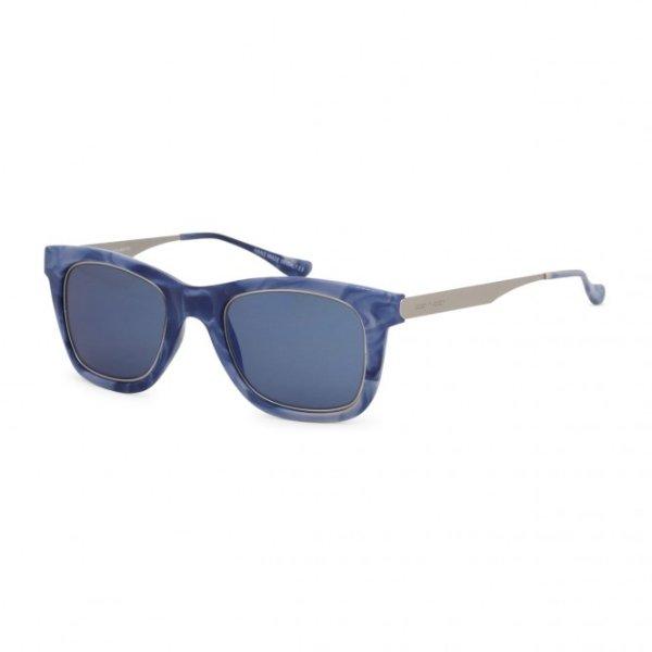 蓝色方框墨镜