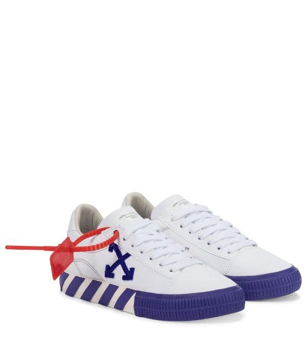 箭头小白鞋