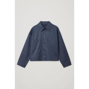 COSCASUAL COTTON SHIRT-JACKET