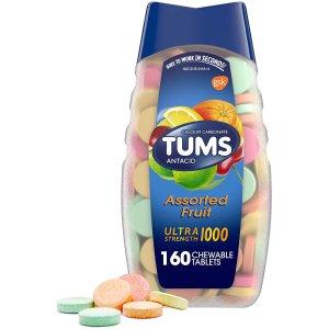 TUMS 胃酸咀嚼片 160粒 综合水果口味