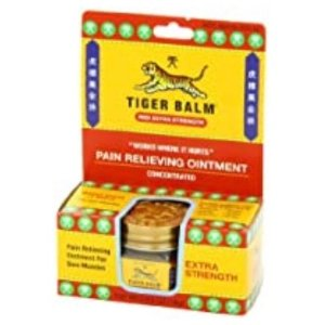 Tiger Balm Pain Relieving Ointment, Extra Strength, 0.63 Ounce