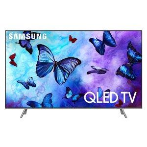 $758.99 高性价比电视屏Samsung 55吋 QLED 量子点 4K超高清 HDR 智能电视