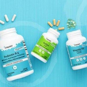 满$100立减$15Vitacost 精选维生素、补充剂年中特惠