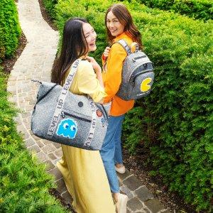 $69起集装备  一起点豆豆Kipling官网 Pac-Man吃人豆限定系列上新