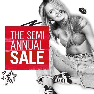 Up to 60% Off Semi-annual sale @ Victoria's Secret