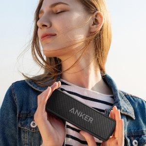 史低£29.99(原价£39.99)即将截止:Anker SoundCore 2 无线蓝牙音箱 经典黑色特卖