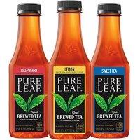 Pure Leaf 原叶鲜泡茶饮 含糖 三种口味 547ml 12瓶