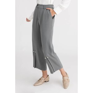 Belda 灰蓝色珍珠裤
