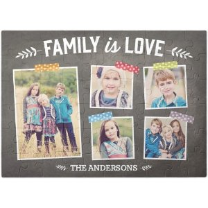 Family Is Love Puzzle | Custom Puzzles | Shutterfly