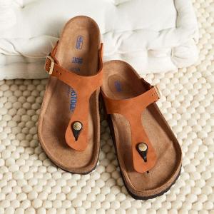低至5折+额外9折Birkenstock 超舒适凉鞋热卖 清爽时尚夏日必备