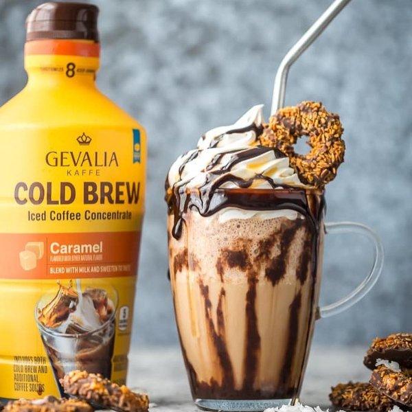 Cold Brew 特调浓缩焦糖咖啡,32oz 大瓶装