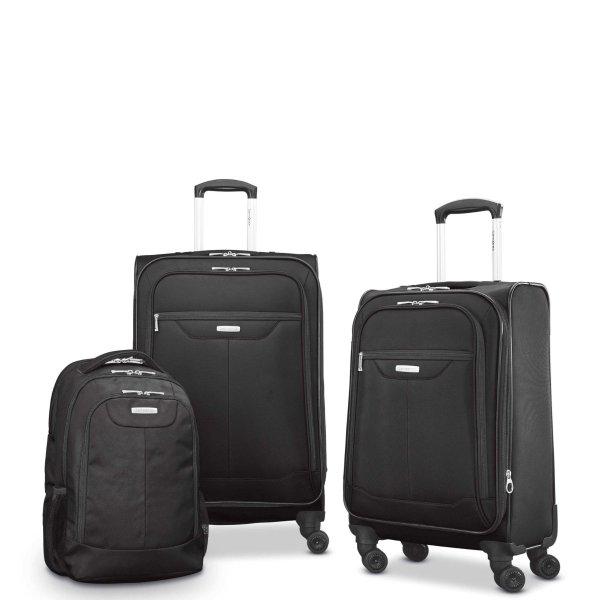Tenacity 行李箱、背包3件套 黑色