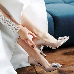 精选85折 经典钻扣美到窒息MANOLO BLAHNIK热促 收超美仙女鞋
