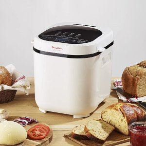 折后€88 自带17个自动程序Moulinex 面包机热促 自制面包安心美味 附带食谱