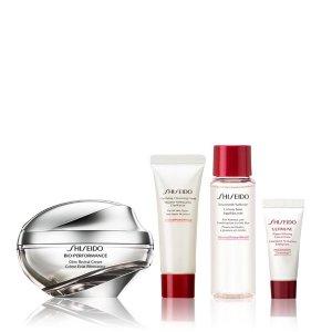 变相67折 仅€77收封面同款Shiseido 资生堂 套装热卖日 肌底液礼盒 百优菁纯面霜超值入