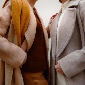 最高额外4.2折 毛领大衣$159即将截止:Club Monaco 全场美衣促销 羊绒毛衣$50+