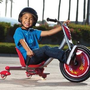 $97.5(原价$155.2)史低价:Razor FlashRider 360度 漂移自行车 带火花效果 安全又酷炫