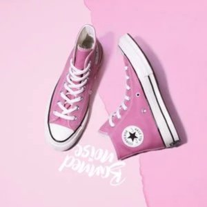 低至3折Converse 新春大促粉色区 樱花蜜桃小仙女