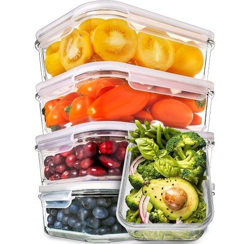 $7.99起限今天:Prep Naturals 玻璃保鲜盒促销