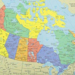 2.9折起 $5.6收加拿大地图地图餐垫 宝宝吃饭时轻松培养地理知识