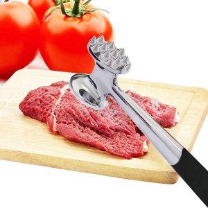 €16.99收 炸猪排肉超嫩ALEENFOON 厨房嫩肉松肉锤 人体工学设计 久用不累