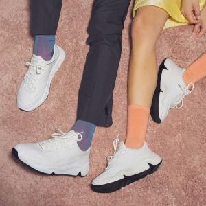 低至额外5折+免邮ECCO 劳工节大促,Soft运动鞋$40多色选,厚底高跟鞋$50