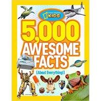 NATIONAL GEOGRAPHIC 童书 5,000 个超棒的事