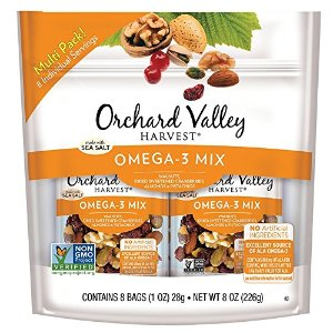 $5.98Orchard Valley Harvest Omega-3 混合坚果 8袋