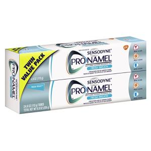 $7.98 Sensodyne ProNamel Fresh Breath Toothpaste, 2 Pack of 4 Ounce Tubes (8 Ounces Total)